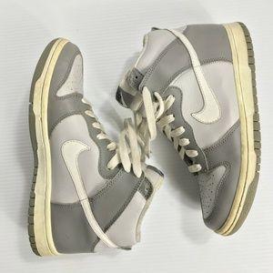 2006 Nike Dunk High Neutral Gray White Cool Carbon